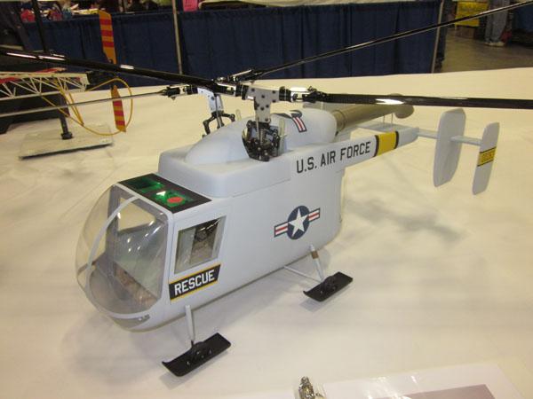 Jim Ryan's Husky with intermeshed rotorheads