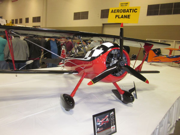 Karl Schneider's 50% scale Pitts Model-12 Checkmate