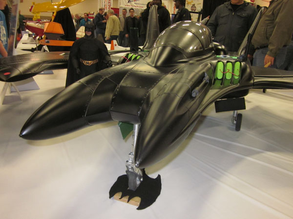 Turbine-powered Batwing!