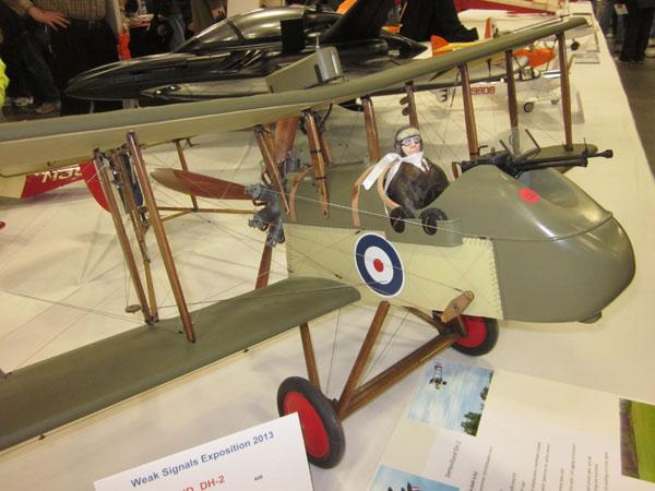 Robert Grossman's DH-2 Pusher