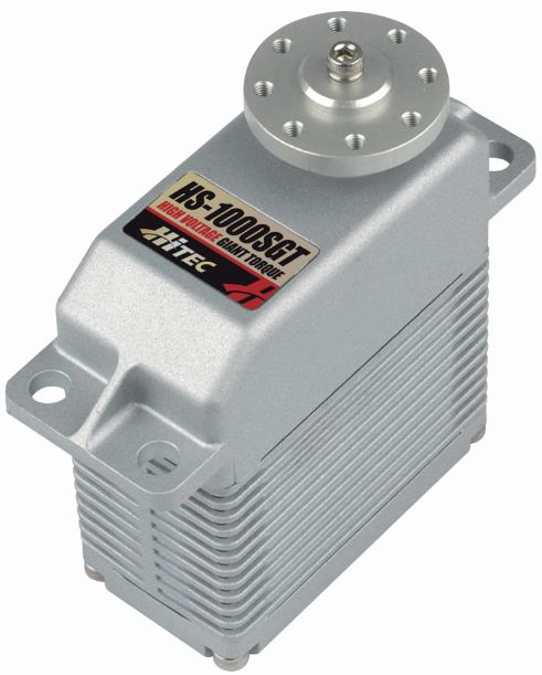 Hitec HS-900SGS and HS-1000SGT—Extreme Servos for Extreme Projects!