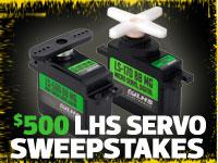Win $500 worth of servos!