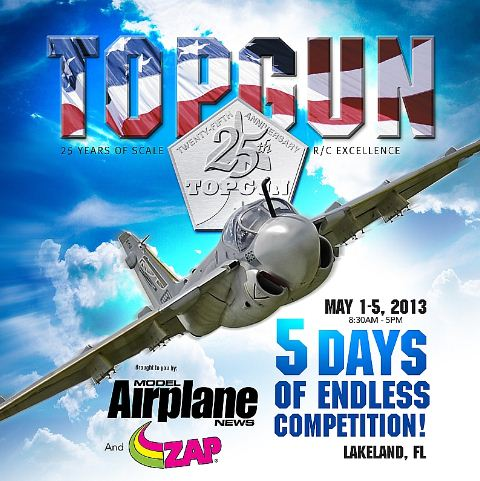 25th Annual Top Gun Scale Invitational starts in one week!