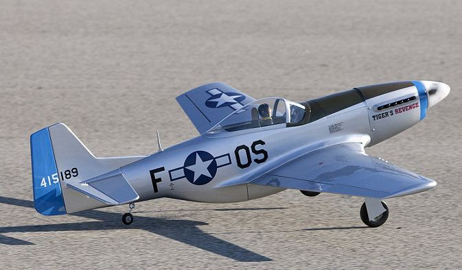 .40-size P-51D Mustang  ARF from Hangar 9