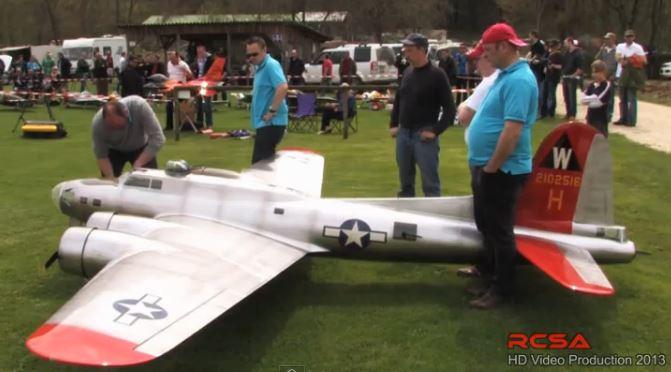 A BEAST of a B-17!