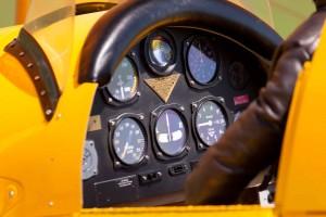 Bucker Jungmeister Cockpit
