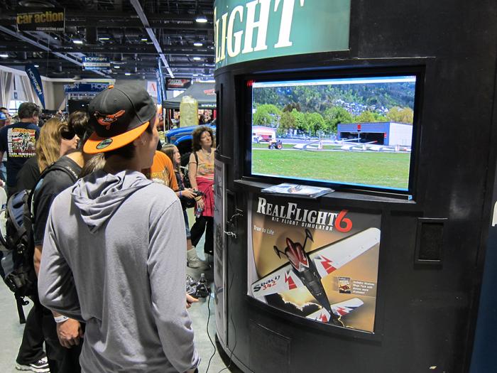 Horizon and Pegasus Hobbies flight simulators