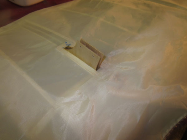 How To Cover Wings with Cloth --  Tips for a Blemish-Free Finish