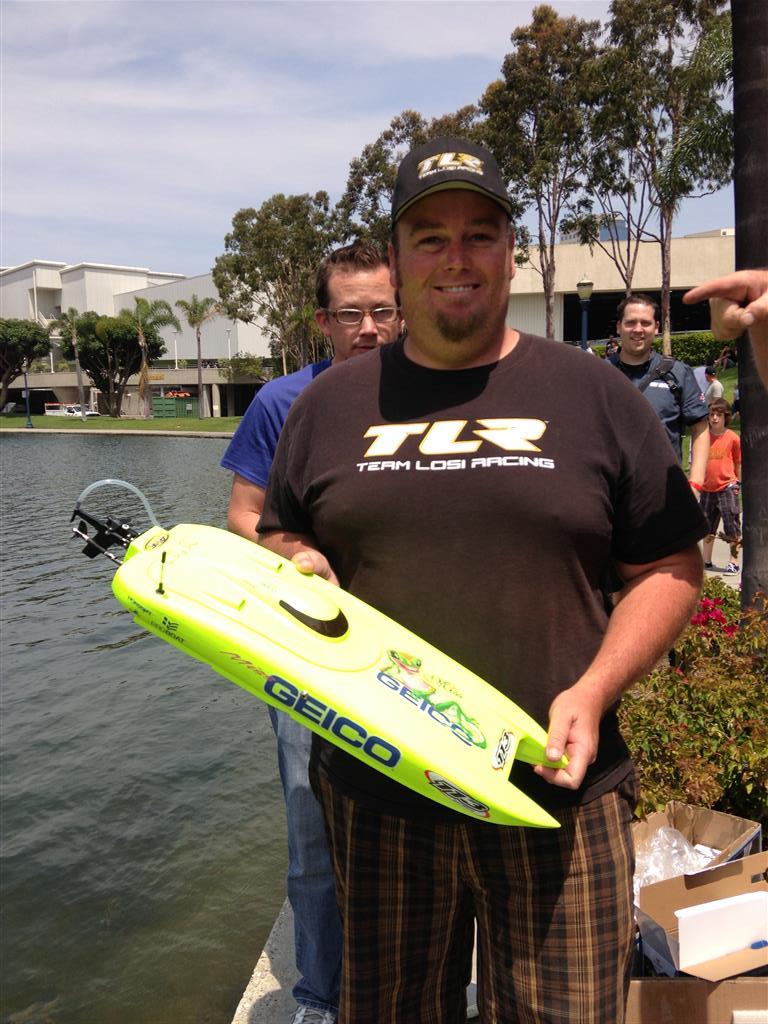 Boat Pond Action at RCX