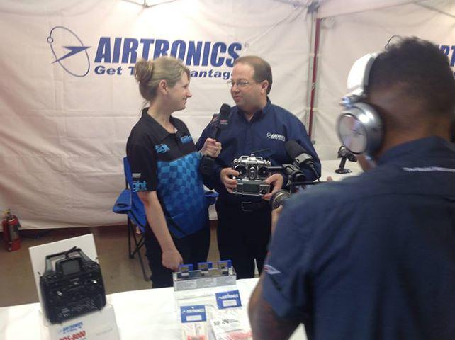 Model Airplane News Team at RCX