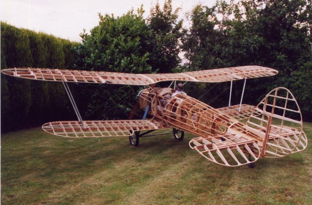Half-Scale RC Bristol Bulldog!