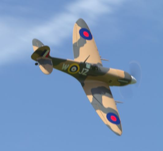 Giant Scale Supermarine Spitfire Mk.9 — Up Close and Personal