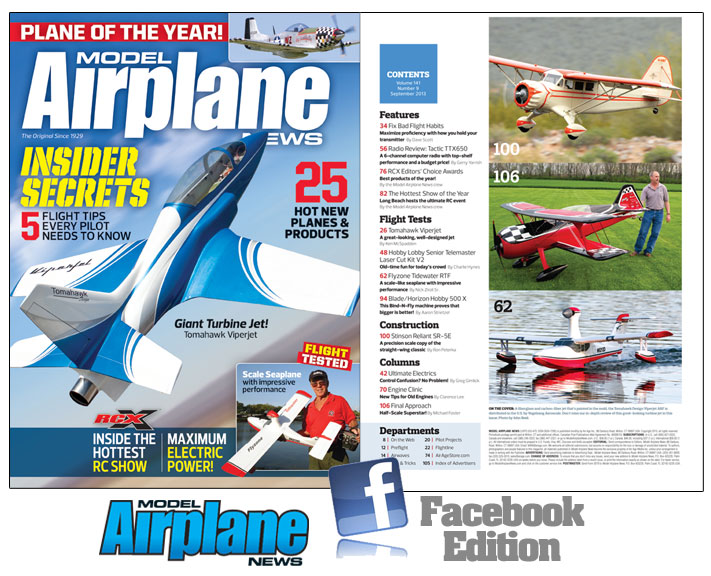 September Issue – Model Airplane News