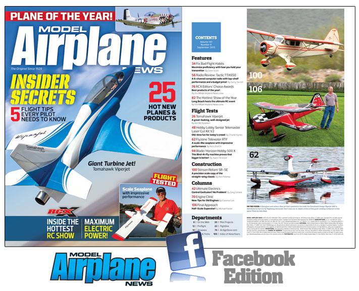 Model Airplane News September