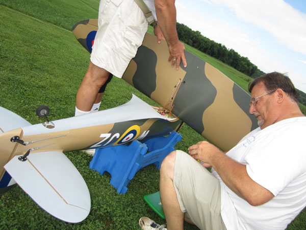 Giant Spitfire ARF Sneak Peek!