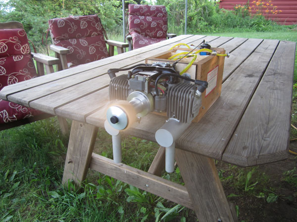 Easy Model Airplane Engine Testing — Keeping it Cheap and Safe!