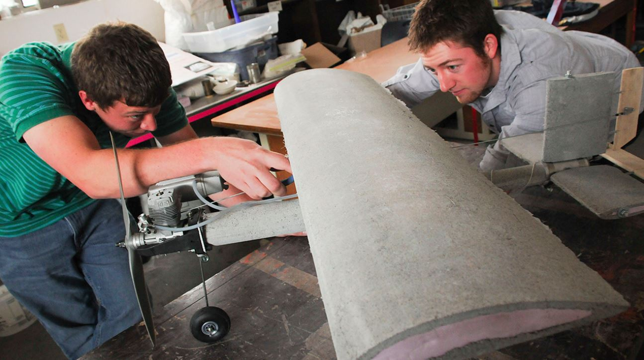 Concrete: construction material of the future?