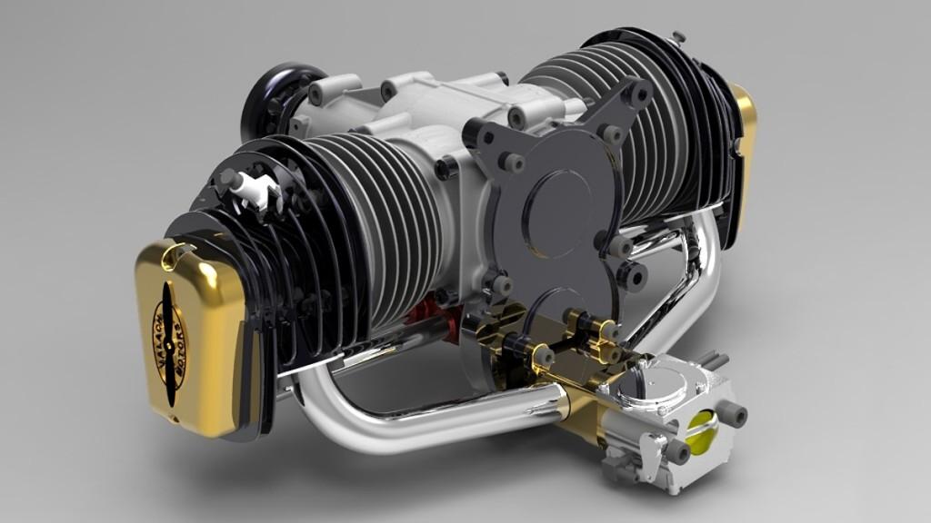 Valach 4-stroke 120cc gas engine