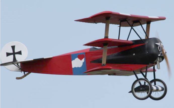 Balsa USA 1/3-scale Fokker Triplane