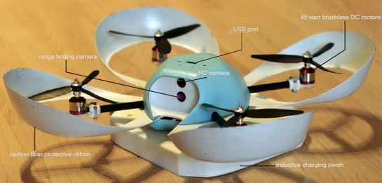 Quadcopter as companion (and more!)