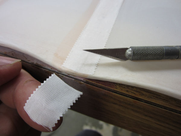 How To: Apply Scale Surface and Rib Tapes