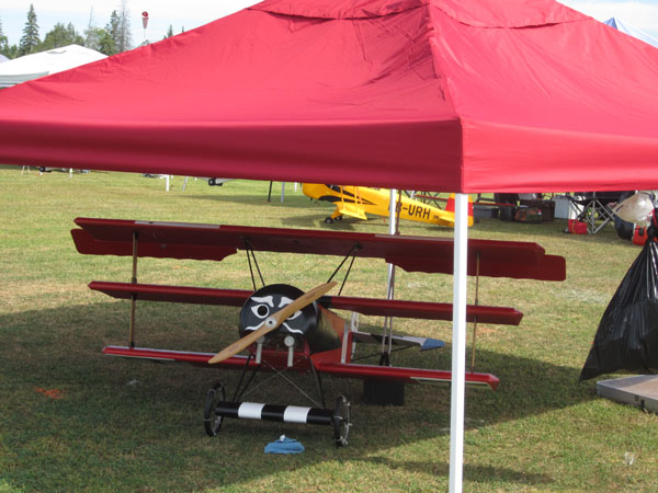 Triplane at Kingston IMAA Rally