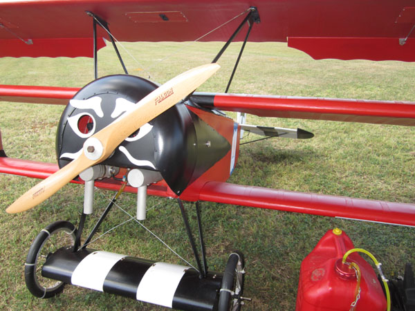 Video Test Flight — 1/3-scale Fokker Triplane