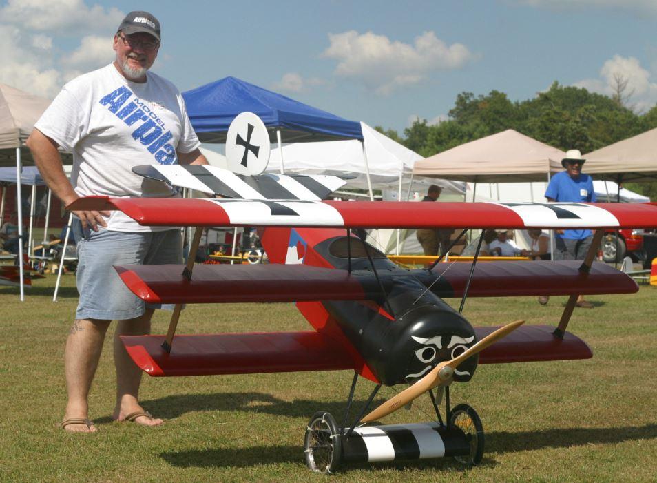 Triplane at Kingston IMAA Rally