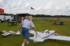 Push-Out for Maiden Flight