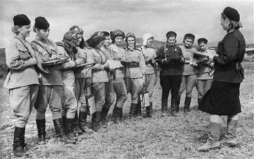 Female Russian bombers