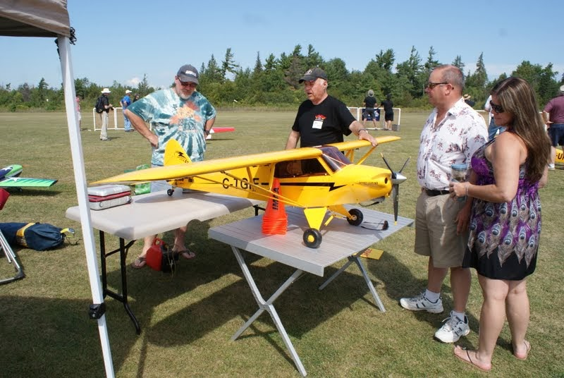 Dave Penchuk about his impressive Carbon Cub.