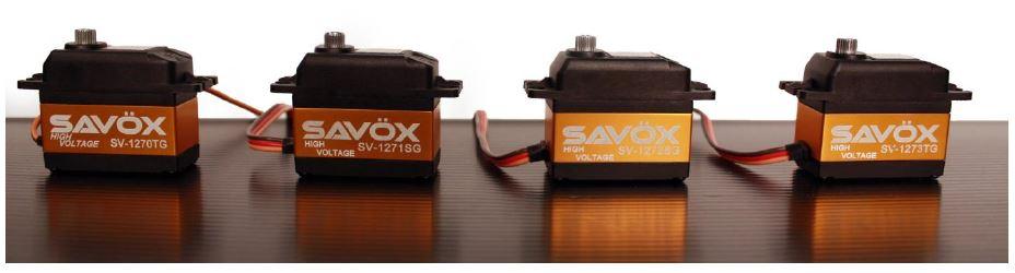 Savox 1200 Series Servos