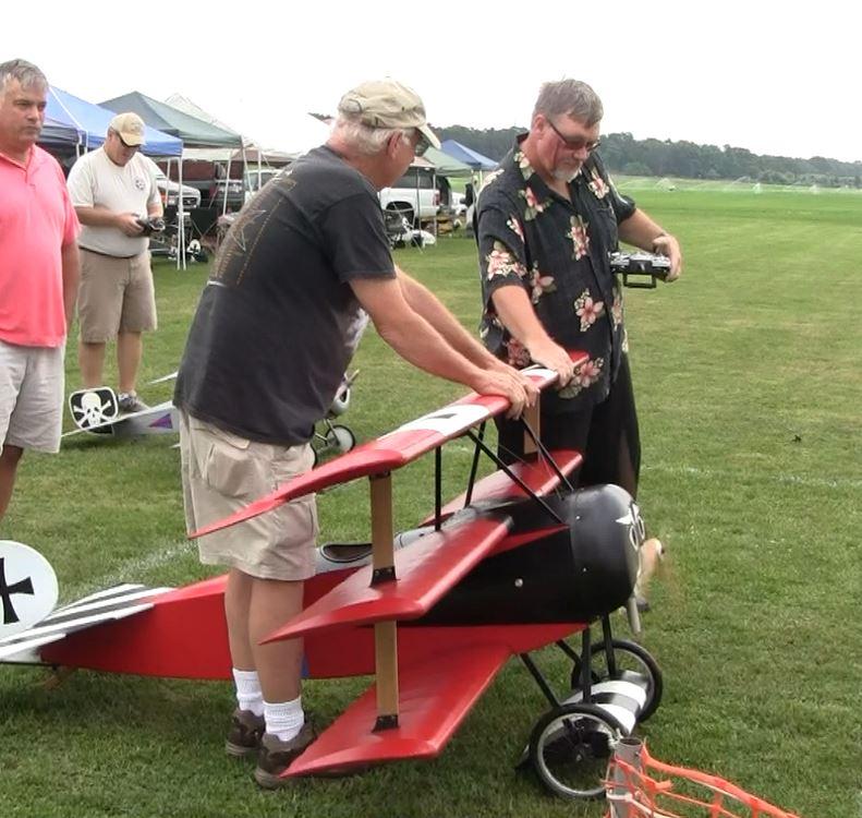Successful Test Flight Giant Scale Fokker Triplane