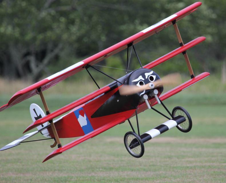 Giant Scale Fokker Triplane
