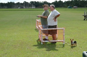 Jerry O'Keffe is really into watching Bruce put his Spitfire through its paces..