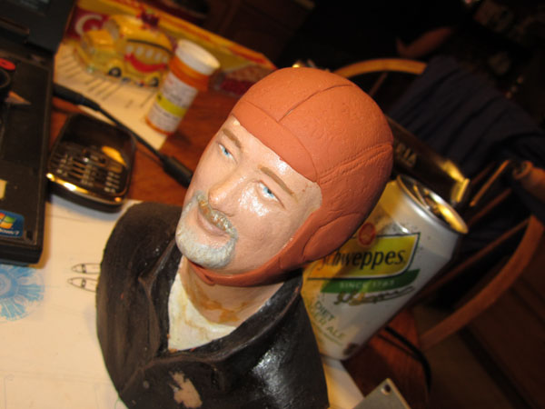 Adding Scale Details to a Pilot Figure