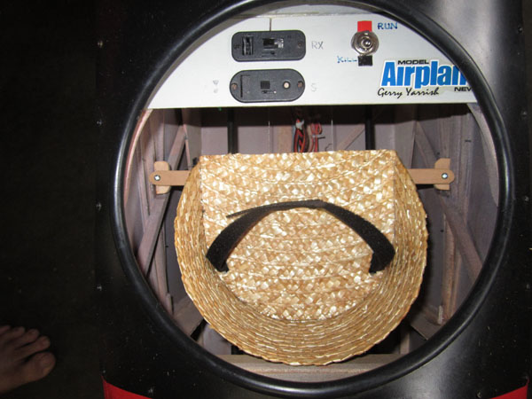 How To Turn a Straw Hat into a Scale Pilot Seat