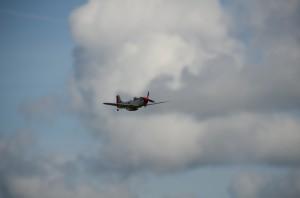 P-51 Low pass