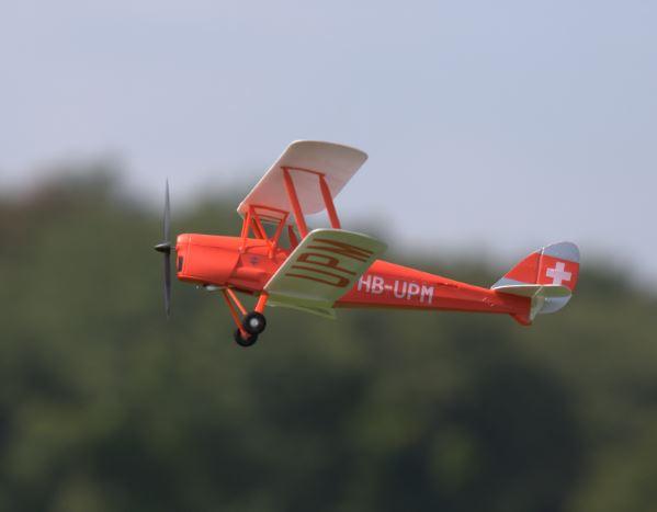Flyzone de Havilland Tiger Moth
