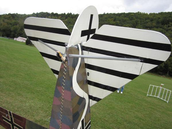 1/3-scale Fokker D.VIII Parasol fighter