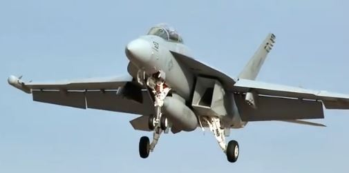 Down on the Deck with Navy Jets
