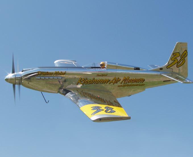 MAN Construction Details — Precious Metal P-51 Reno Racer
