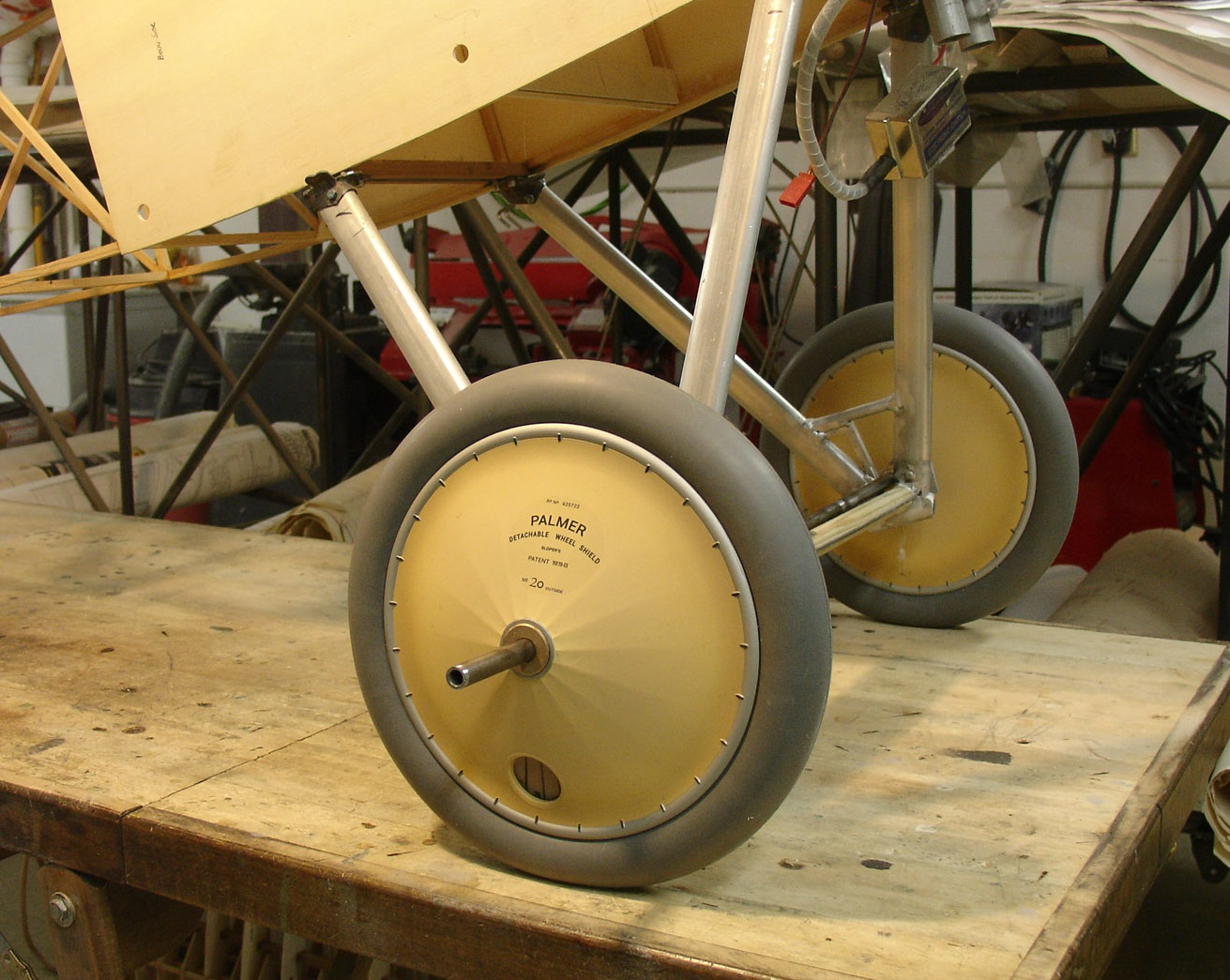 New 1/3-scale British WW1 Vintage Wheels from Williams Brothers