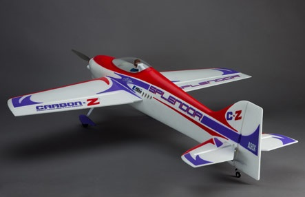 E-flite Splendor Pattern ship with CarbonZ Technology