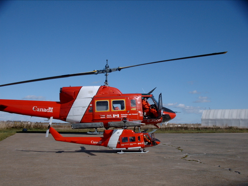 Steve Mosher and his Amazing Canadian Coast Guard Bell 212