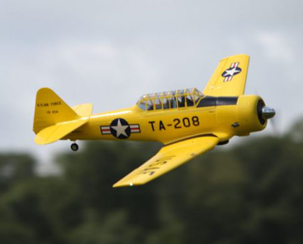 "Flying the ""Pilot Maker"" AT-6 Texan from Hobby King — With New Video"