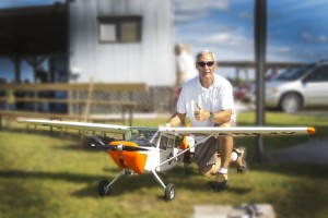 Bruce Horvath -CD with his Cessna Birddog