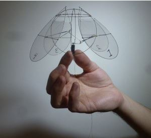 Fly like a … jellyfish?