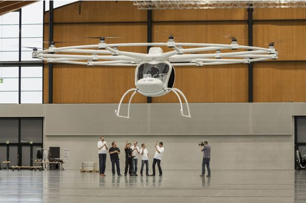 Volocopter: Man-Carrying Multi Rotor