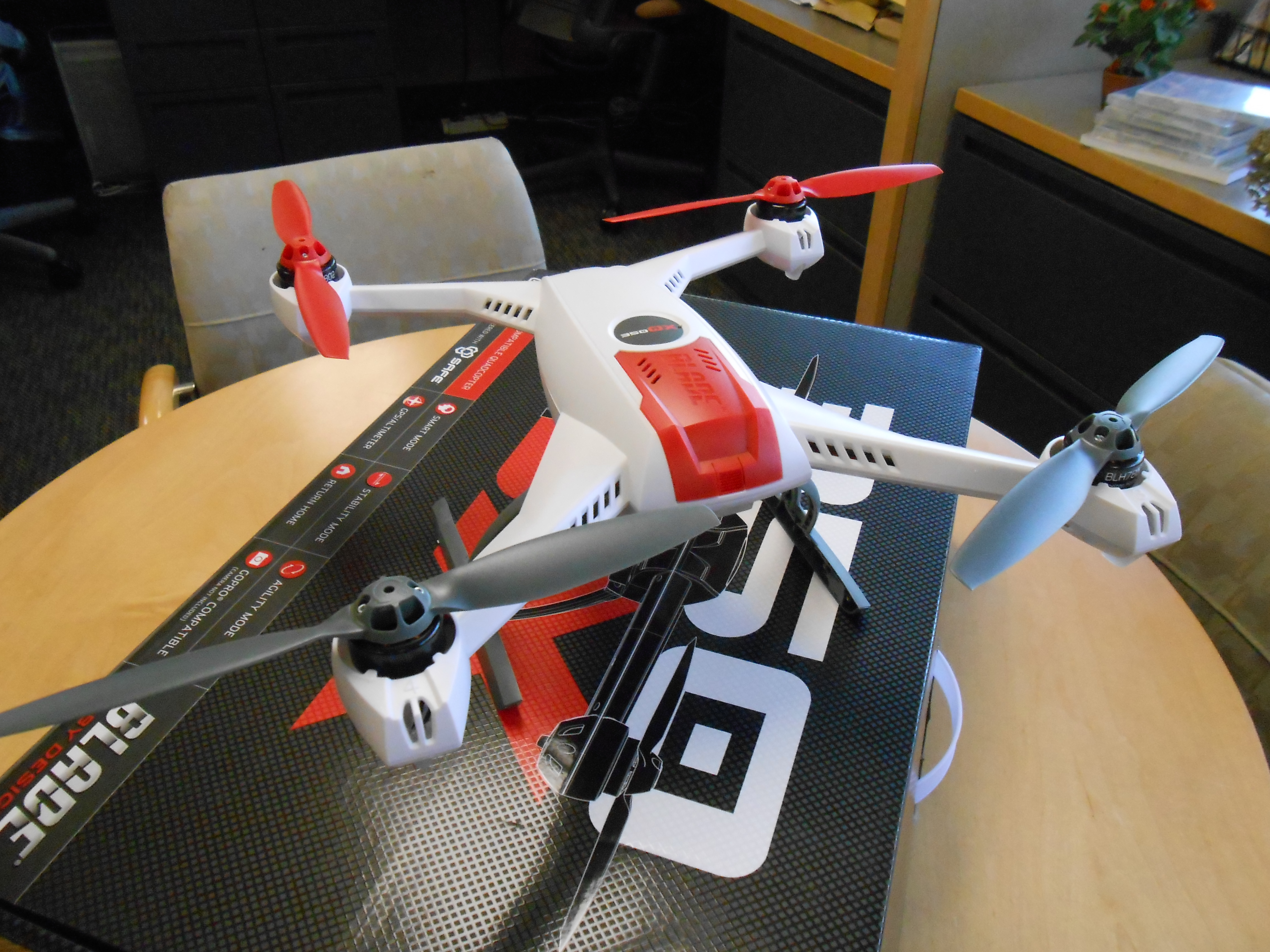 Sneak Peek — Blade 350 QX Quadcopter with GPS stability